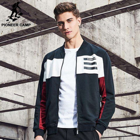 Patchwork Hip Hop Jacket - WS-Jackets