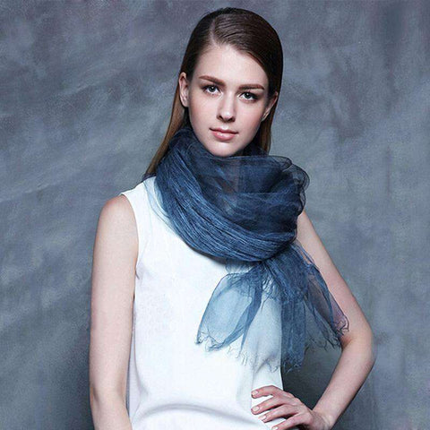 Luxury Real 100% Silk Summer Scarf