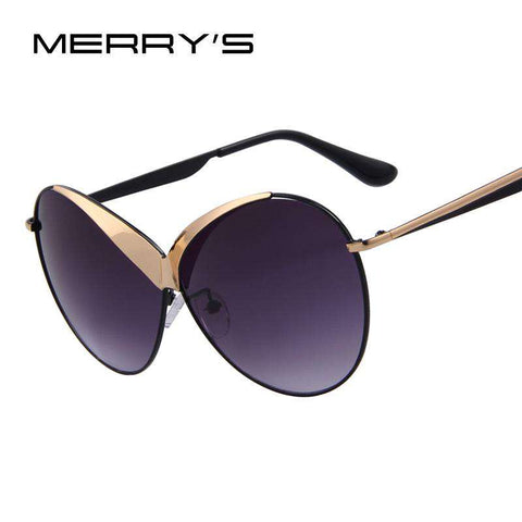 Top Quality Summer Style Oval Alloy Frame Sunglasses