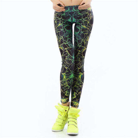 3D Printed Ray fluorescence Legging - Wear.Style