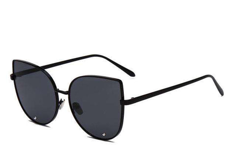 Mirror Metal Cat Eye Sunglasses - Wear.Style