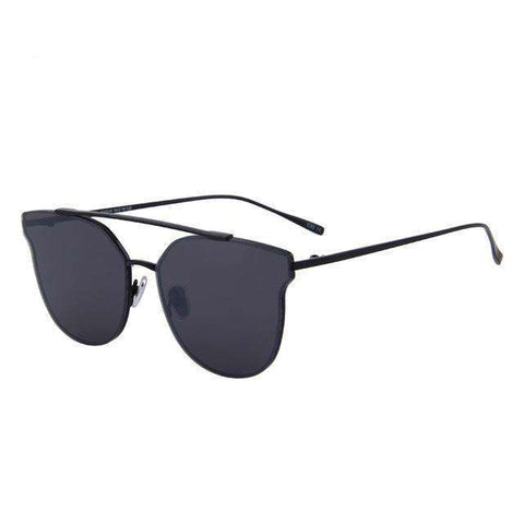 Cat Eye Designer Photochromic Mirror UV400 Anti-Reflective Sunglasses
