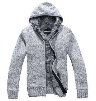 Fur Inside Thick Hooded Sweatshirt - Wear.Style