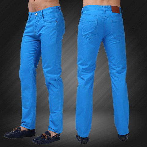 Slim Fit Mid Straight Jeans - Wear.Style