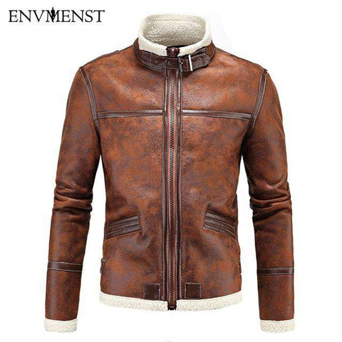 Resident Evil PU Faur Long-sleeve Jacket - Wear.Style