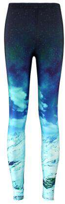 Sexy 3D Printed Space Galaxy Leggings - Wear.Style
