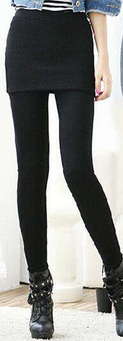 One Piece Women Footless Legging Skirt - Wear.Style
