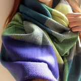 Plaid Warm Scarf - Wear.Style