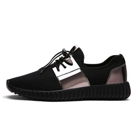 Breathable Lace-up Casual Shoes - Wear.Style