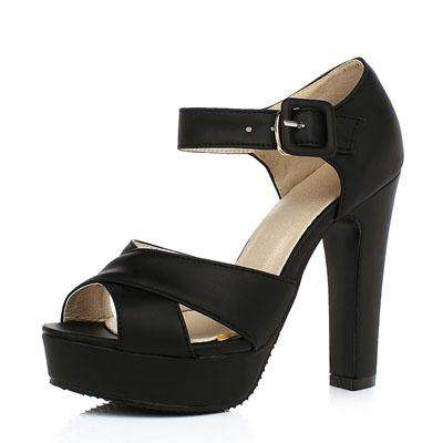 Ankle Strap High-heeled Sandal