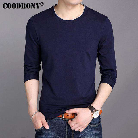 Summer New Long Sleeve O-Neck T-Shirt