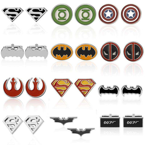 Luxury Batman Superhero High Quality Cufflinks