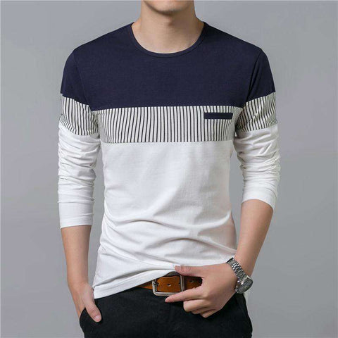New Long Sleeve O-Neck Cotton Tees