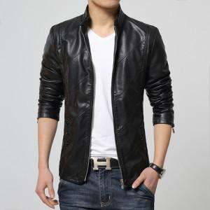 Faux Leather High Quality PU Jacket