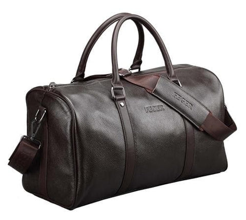 Genuine Leather Large Duffle Travel Bag