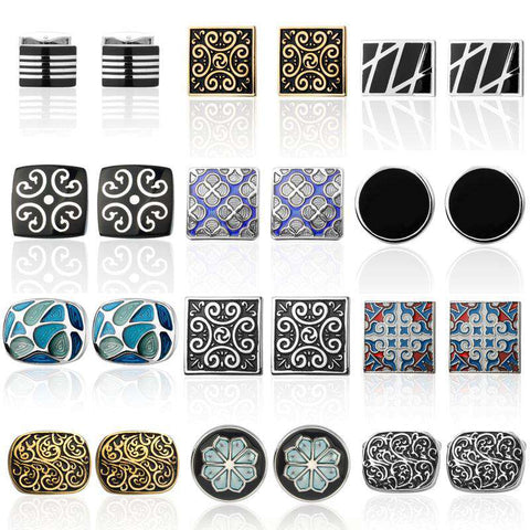 Luxury Pattern Cufflink