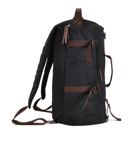 Canvas Travel Backpack Duffle Bag Shoulder Tote