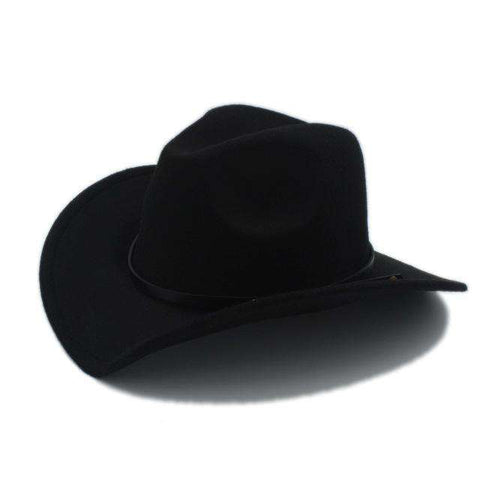 Retro Wool Cowboy Hat