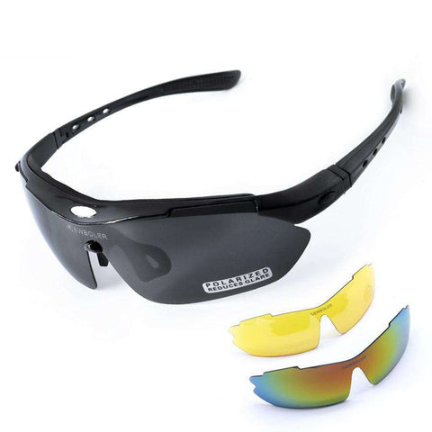 Professional Myopia Polarised Outdoor Sport Sunglasses with 3 Lens