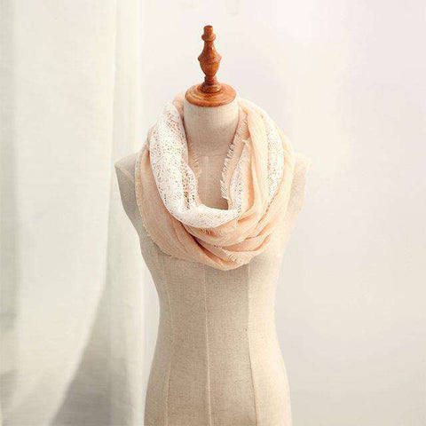 Infinity Circle Lace Scarf - Wear.Style