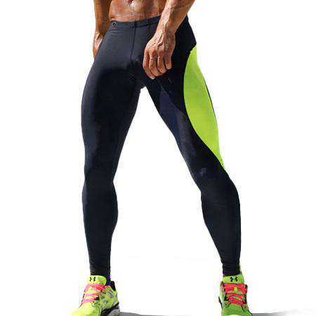 Mens Compression Track Pants