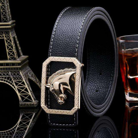 Luxury Fashion High Quality Red Belt - Wear.Style