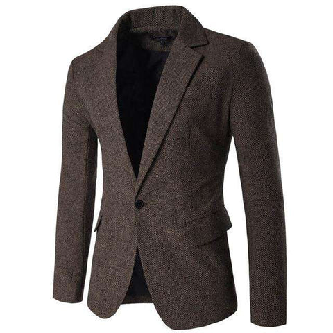 Slim Fit Single Button Blazers