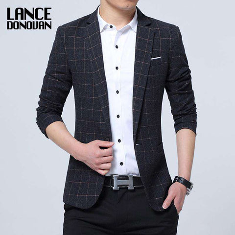 Slim Fit Leisure Casual Blazer - Wear.Style