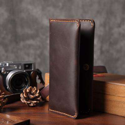 Handmade Genuine Leather long style Wallet