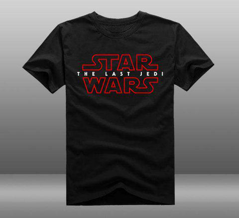 Star Wars The Last Jedi Cotton Short Sleeve TShirt