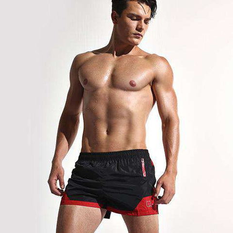 Quick Dry Board Shorts with Inside Mesh underwear - Wear.Style