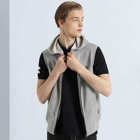Hooded Top Quality Sleeveless Jacket - WS-Jackets