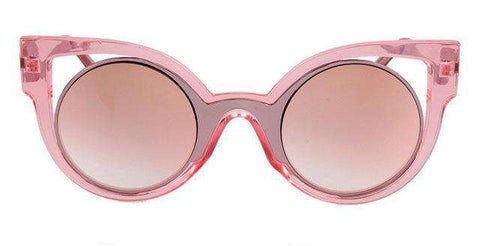 Cat Eye Round Frame Vintage Summer Cool Sunglasses