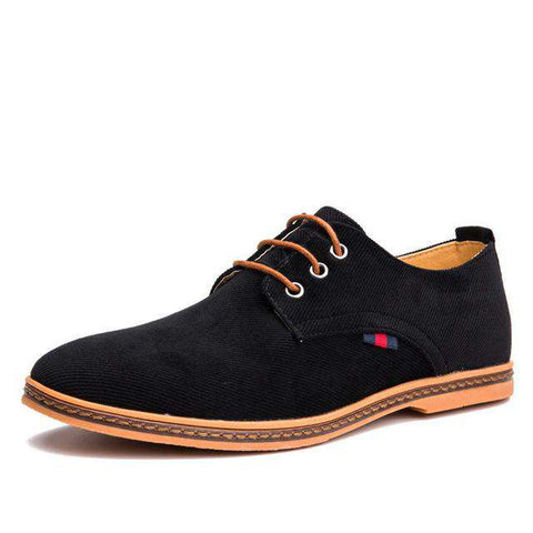 Lace Up Designer Corduroy Shoes - Wear.Style