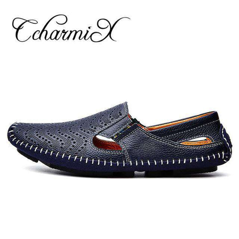 Genuine Leather Luxury Loafers - Wear.Style