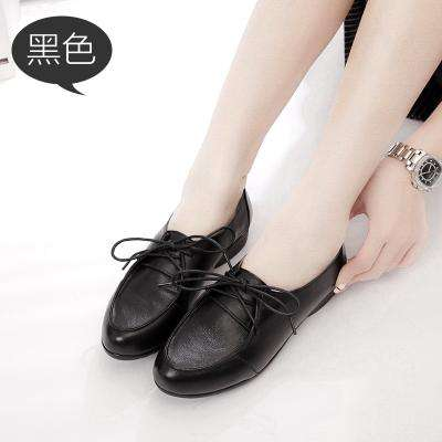 Handmade Genuine Leather Soft Comfortable Round Toe  Flats - Wear.Style