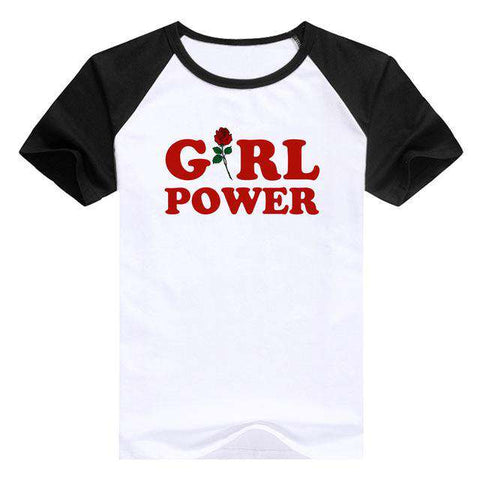 Inspirational Girl Power casual T-Shirt - Wear.Style