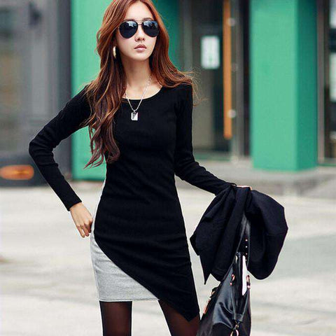 Long Sleeve Slim Knit Sweater