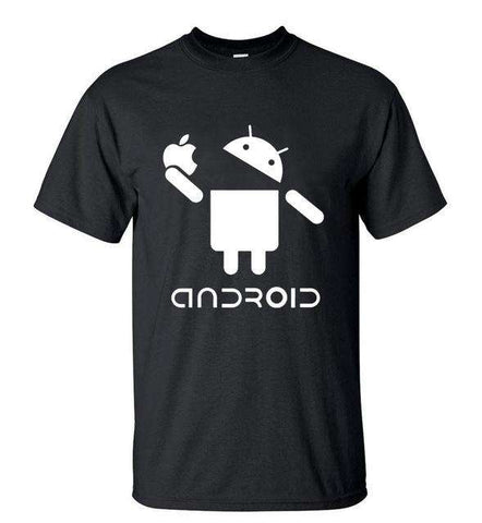 Android 100% Cotton High Quality Loose Fit Top TShirt - Wear.Style