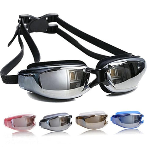 Professional Anti-fog UV Protection Waterproof Swimming Googles Glasses