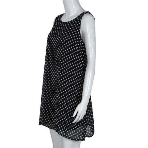 Sexy Polka Dot Sleeveless Dress - Wear.Style