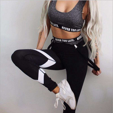 Black Print Workout Legging - Wear.Style