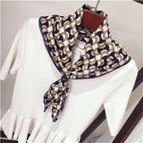 Silk Square Satin Scarf - Wear.Style