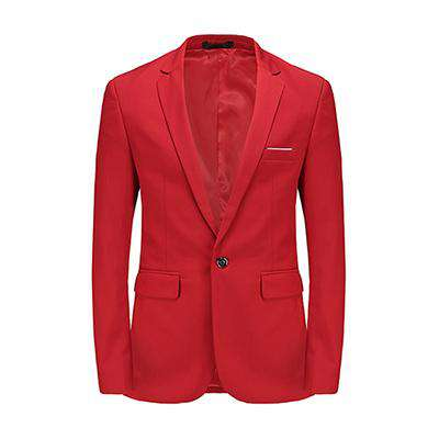 Single Breasted Slim Fit Blazer