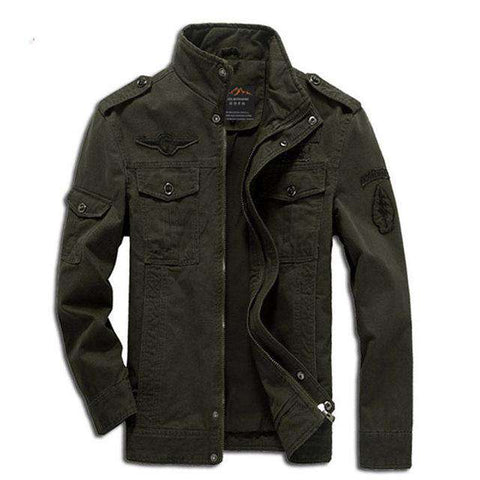 Military Army Embroidery Jacket - WS-Jackets