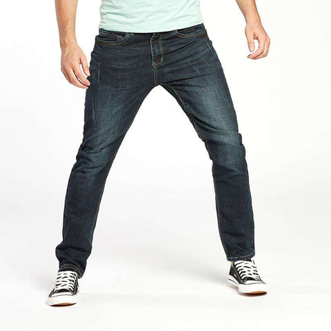 High Quality Soft Comfort Cotton Wash Black Stretch Denim Jeans
