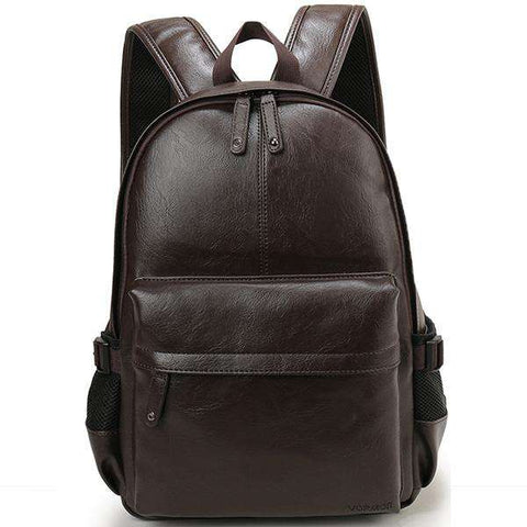 Style Leather Casual Daypacks Backpack