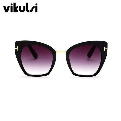 Cat Eye Big Size Sunglasses - Wear.Style