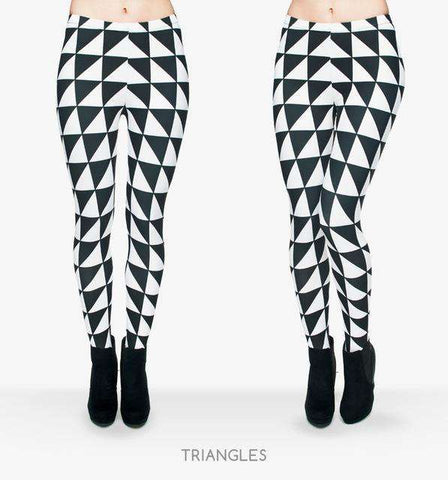 Geometry Printed Leggings