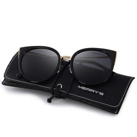 Designer Cat Eye Polarised Sunglasses